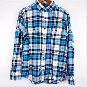 American Eagle Large Athletic Fit Flannel Shirt